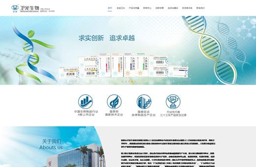 互联网企业网站产品方案